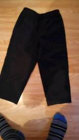 2 pairs of 3_4 years old trousers