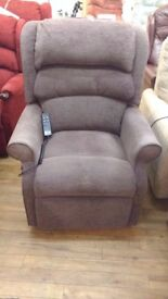 Grande Sized HSL Waltham Dual Motor Riser Recliner Chair, Delivery Available