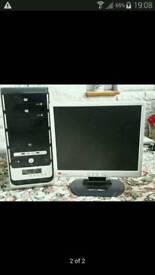 PC & 17 INCH LCD MONITOR