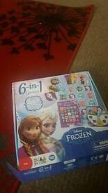 Frozen 6in1 games