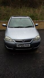 Vauxhall corsa C 2005 open to offers