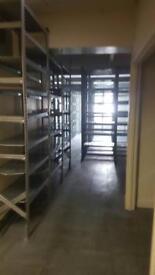 Ex store room shelving