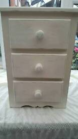 Distressed Solid Pine Chest Of Draws
