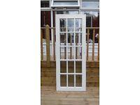Glass Panelled Hardwood Door
