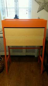 Ikea fold out desk & chair