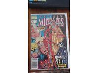 The New Mutants #98 (1st appearance of Deadpool)