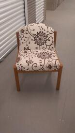 Retro upcycled armchair