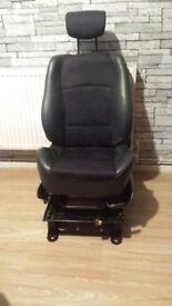Vauxhall Vivaro driver seat