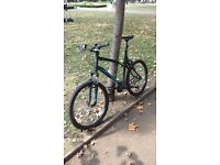 B'TWIN ROCKRIDER 340 MOUNTAIN BIKE XL + lights, repair kit, FIRST OWNER, LIFETIME WARRANTY