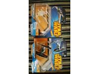 HOTWHEELS Star Wars ships x2