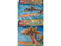 2 bags of lego chima new