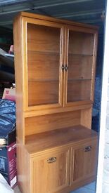 Display cabinet with glass windows. grab a bargin want rid!