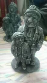 Miner garden ornament statue