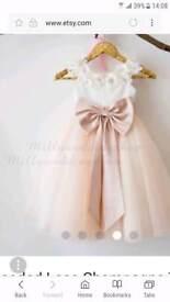 etsy bridesmade dress 12-18 month