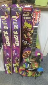 NEW TMNT 3/4 GUITAR (COLLECTION ONLY)