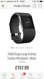 £70 NO OFFERS FITBIT SURGE