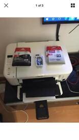 Canon Pixma MG3150 Gloss White Printer, Copier & Scanner