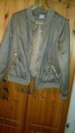 George bomber style jacket