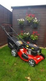 "Frisky Fox 530 QuadCut 21"" 4 in1 Self Propelled Lawn Mower, Lawnmower"