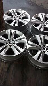 HYUNDAI GENESIS COUPE FACTORY 18 INCH RIMS IN EXCELLENT CONDITION.