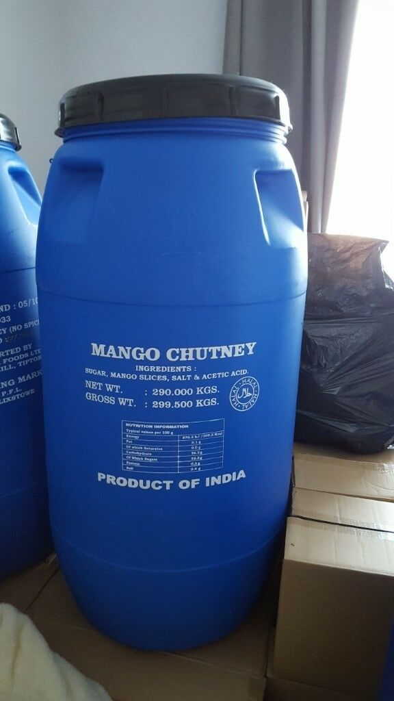 290 litre 43 inches tall x 16 inches wide plastic barrel previously used  for food products    in Kingswood, Bristol   Gumtree