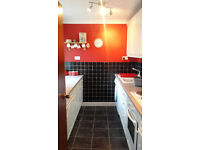 1 Bedroom flat fully furnished with seperate study room and seperate kitchen area