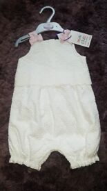 Broidery Romper baby clothes
