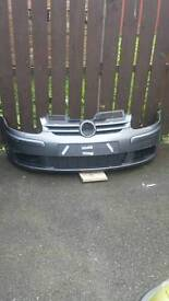 Mark 5 front bumper and grill