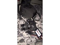 Canon EOS 600D profesional camera with flash