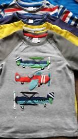 Boys *bundle* size 5-6 long sleeved tops