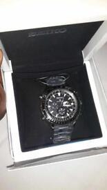 Seiko men's prospex chronograph