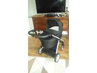 mamas and papas sola travel system pram and push chair