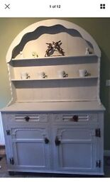 Welsh dresser kitchen shabby chic unfinished project