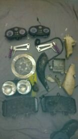 Yamaha tdr 125 parts job lot