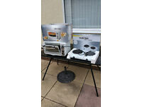 Electric Oven & Double Hob