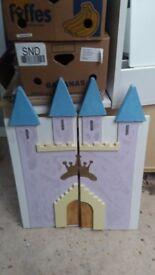 Princess castle doors