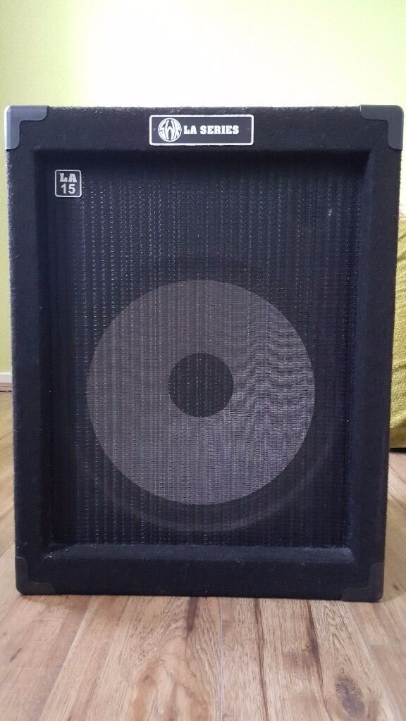 bass guitar amp swr la15 100w 1x15 driver combo bass amplifier in excellent condition in. Black Bedroom Furniture Sets. Home Design Ideas