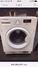 Graded stoves integrated washing machine