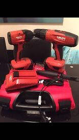 Hilti combi drill and impact driver with accessories, BRAND NEW!