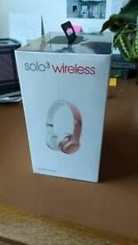 Beats Solo³ Wireless headphones - Rose Gold
