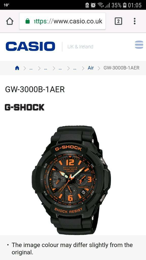 cheap for discount ffebc 2e0df G-Shock GW 3000B 1AER BNIB | in Slough, Berkshire | Gumtree