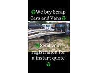 Southern vehicle disposal want your scrap cars