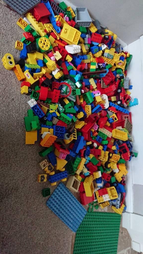 Huge Lego Duplo Bundle Plates Cars People In Brandon Suffolk