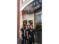 Cafe Team Members (Part Time / Weekends) for Boswells Cafe, Didcot