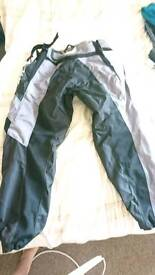 Mens motor cross fly racing 36w large pants