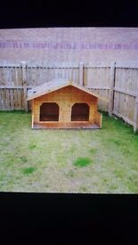 Dog kennel for sale great for big dog £100 will need van to pick it up . Great condition.