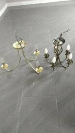 FOR SALE - WORKING LIGHT CHANDELIERS