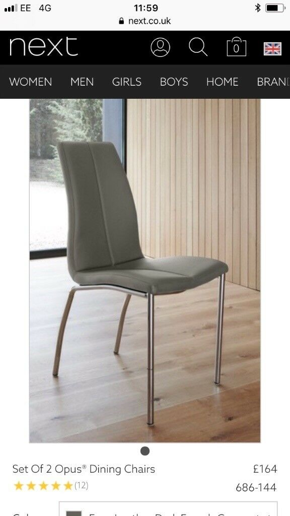 Next dining chairs  06c617f78