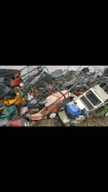 Wanted Broken Non Runner Lawnmowers Strimmers ect. For free
