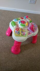 Vtech play and learn table